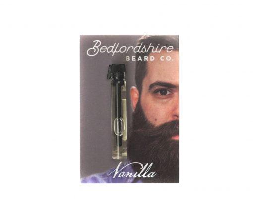 amostra oleo para barba baunilha 2ml
