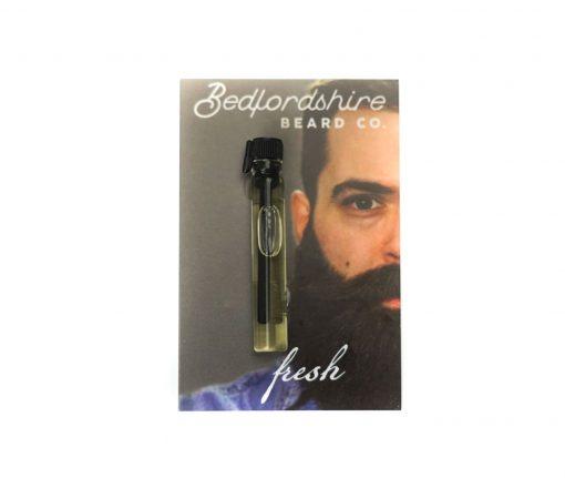 amostra oleo para barba fresh 2ml