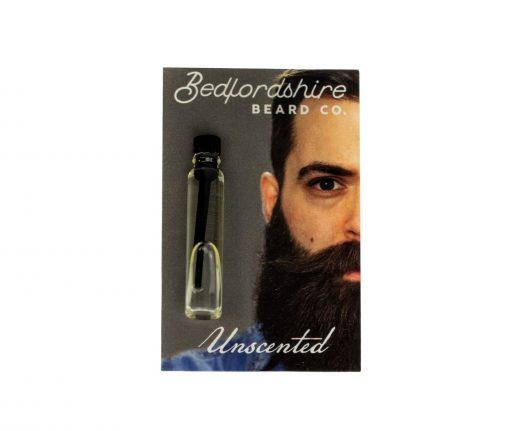 amostra oleo para barba sem aroma 2ml