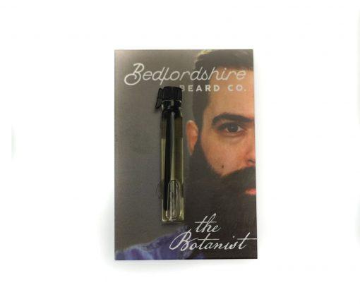 amostra oleo para barba the botanist 2ml