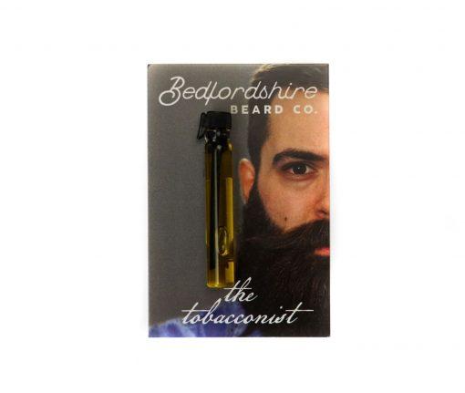 amostra oleo para barba the tobacconist 2ml