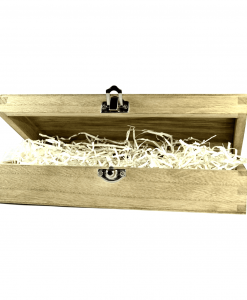 Caixa de madeira para oferta barbudos.pt
