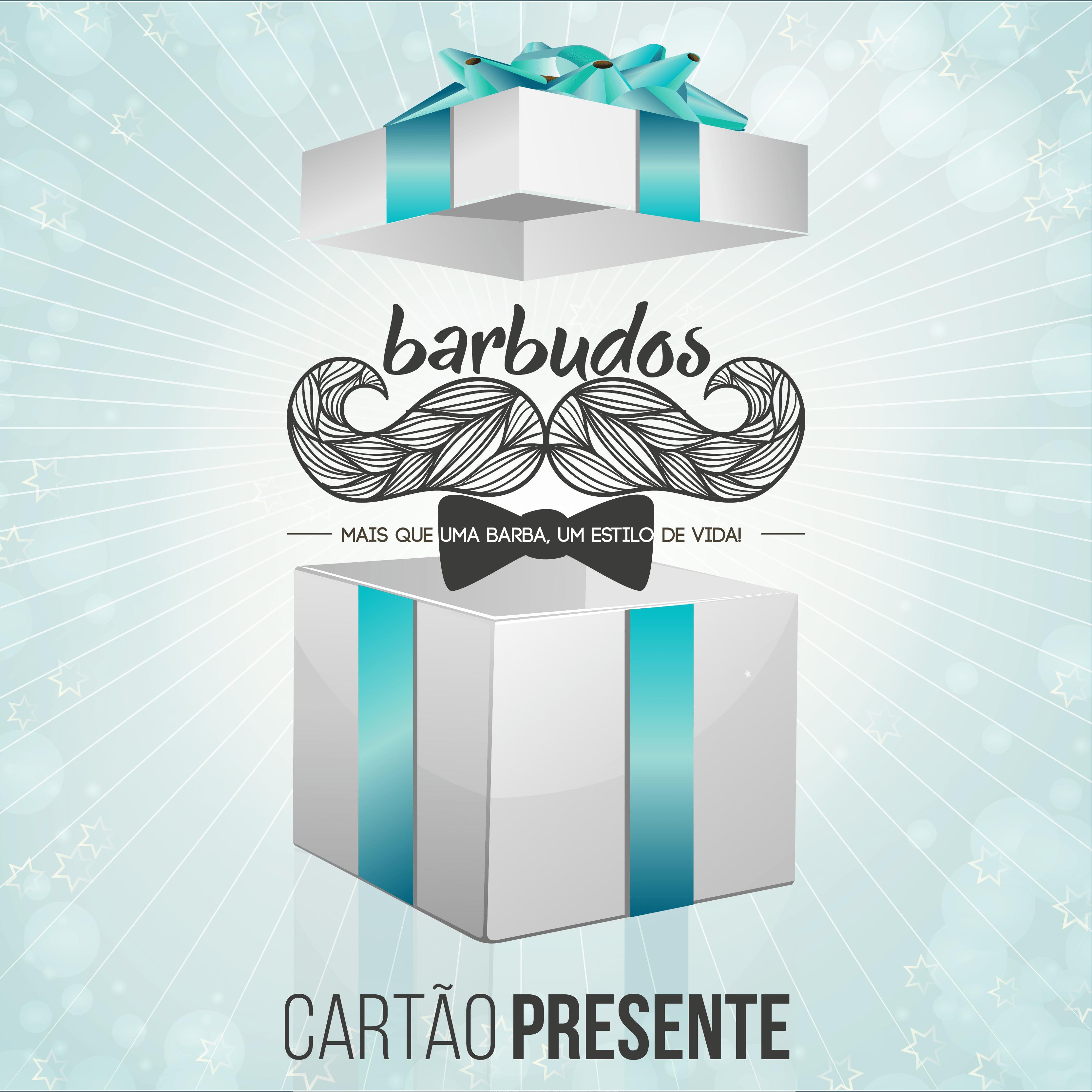 Cartão presente Barbudos.pt