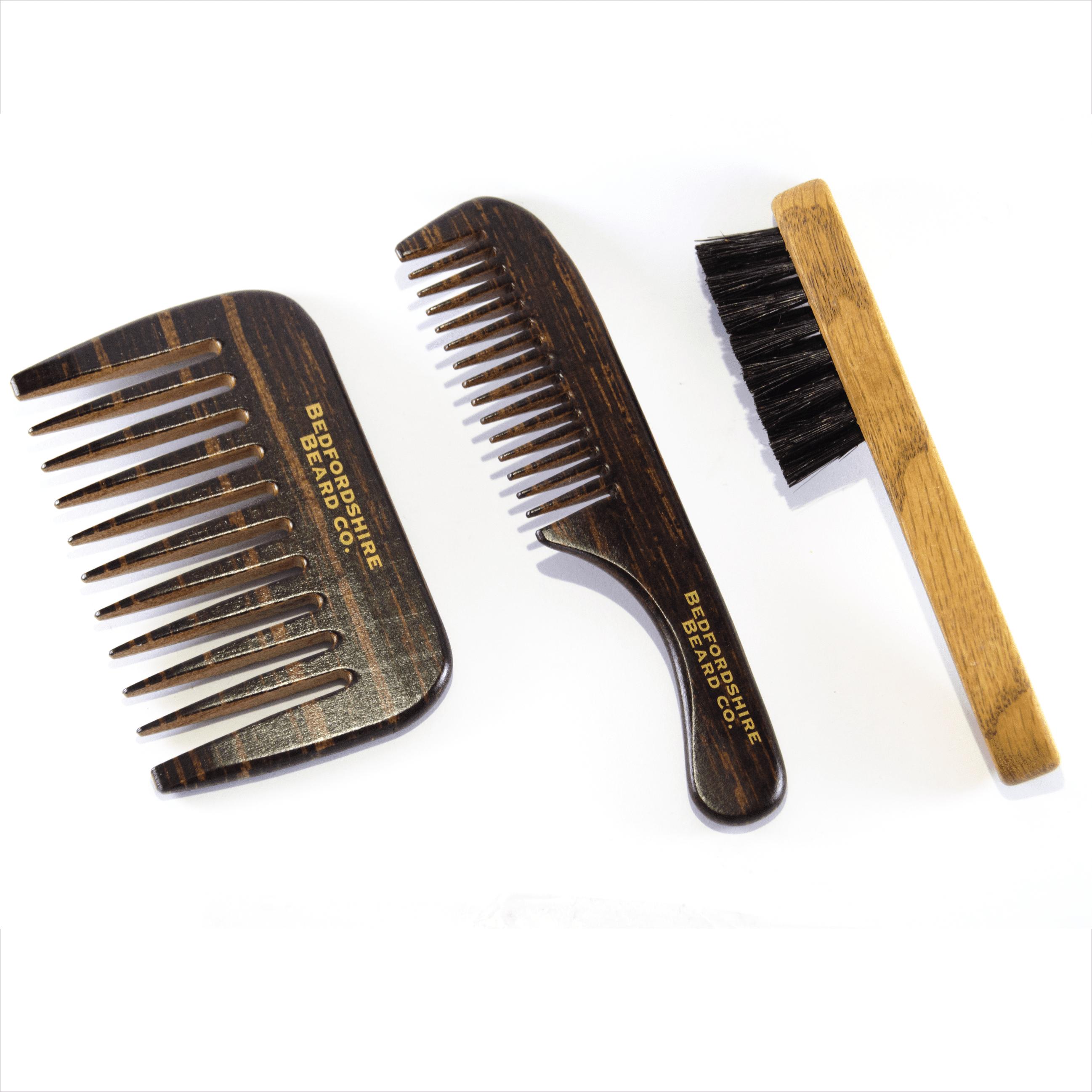Conjunto pentes e escovas barbudos.pt