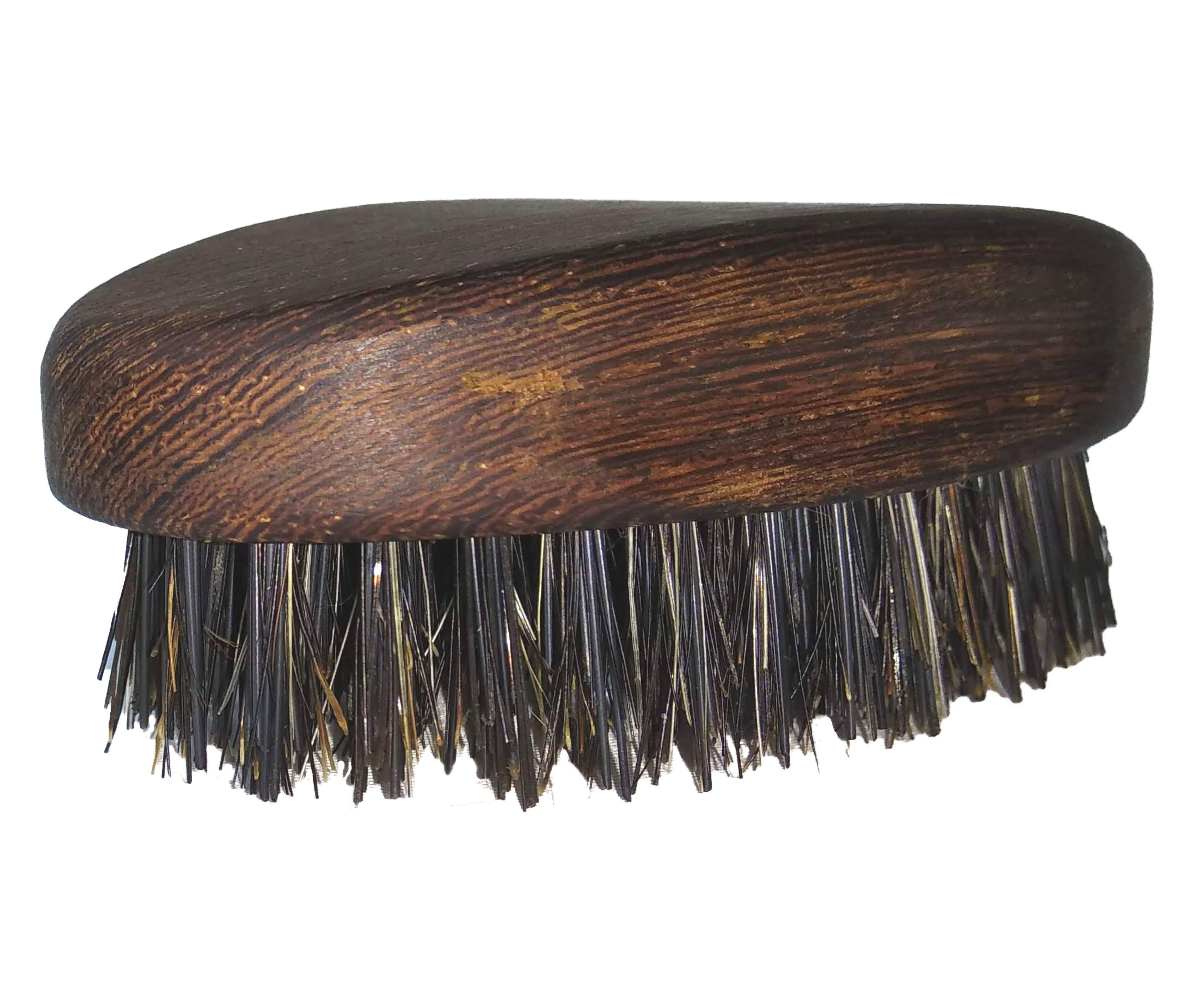 escova para barba oval barbudos pt
