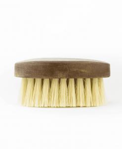 escova para barba pequena oval barbudos barba bigode