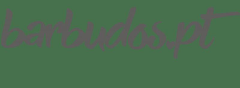 logotipo barbudos.pt cinza