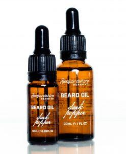 Óleo para barba pimenta negra bedfordshire beard co barbudos
