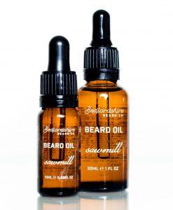 Óleo para barba pinho bedfordshire beard co barbudos