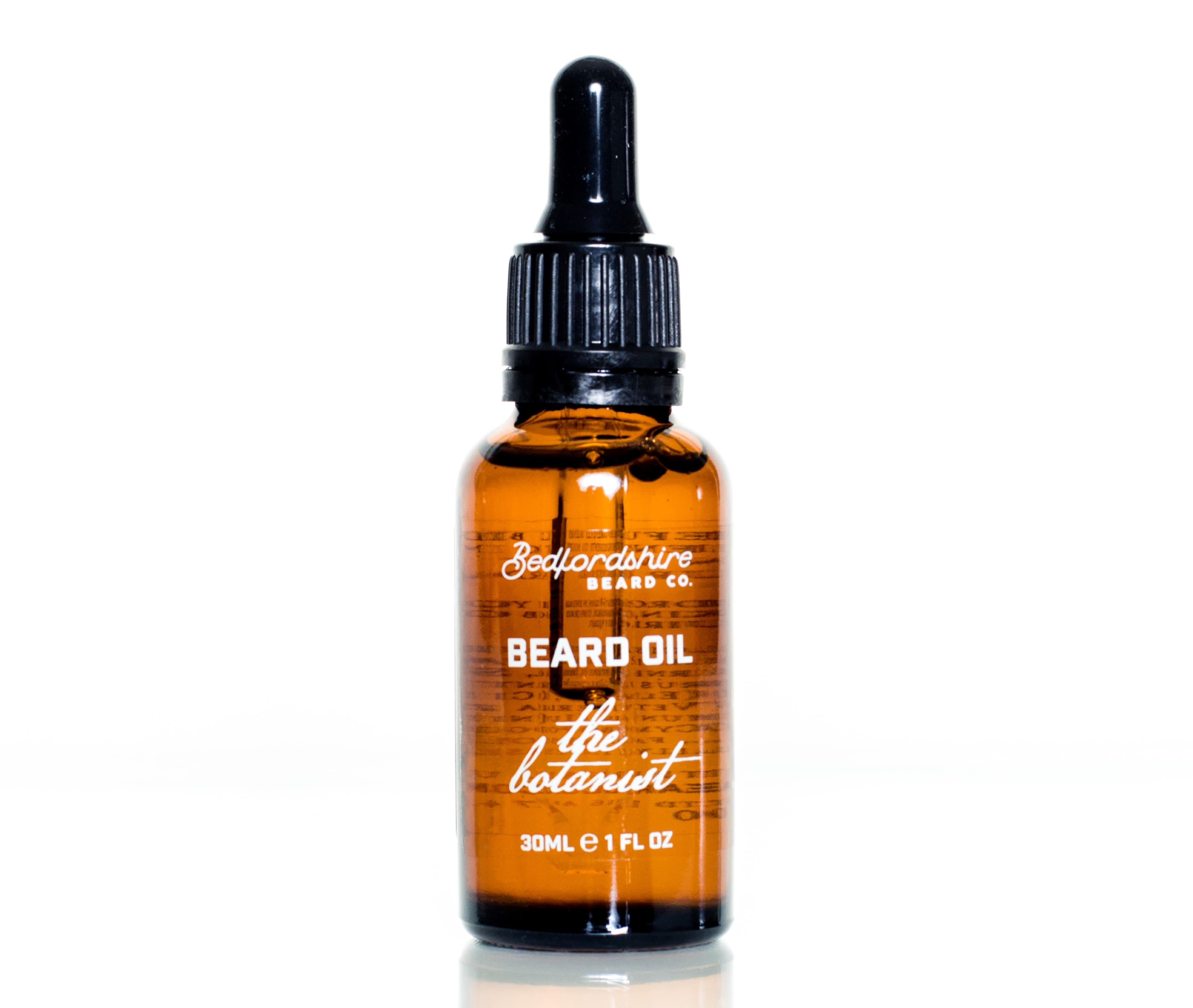 Óleo para barba the botanist bedfordshire beard co barbudos
