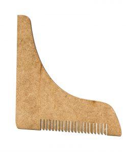 pente delineador molde barba barbudos